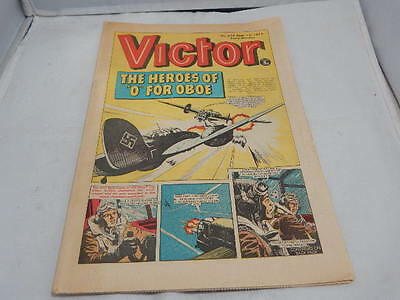 """THE VICTOR COMIC No 654 ~ Sept 1st 1973 ~ The Heroes Of """"O"""" For Oboe"""