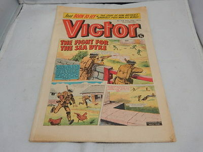 THE VICTOR COMIC No 658 ~ Sept 29th 1973 ~ The Fight For The Sea Dyke