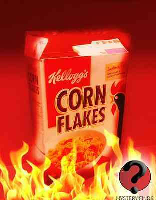 The Corn Flakes box from Hell ---- Evil Devil Scary Horror Haunted