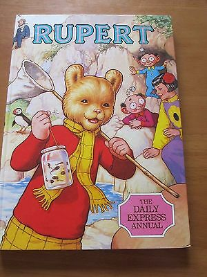 Rupert The Bear 1986 The Daily Express Annual - Hardback