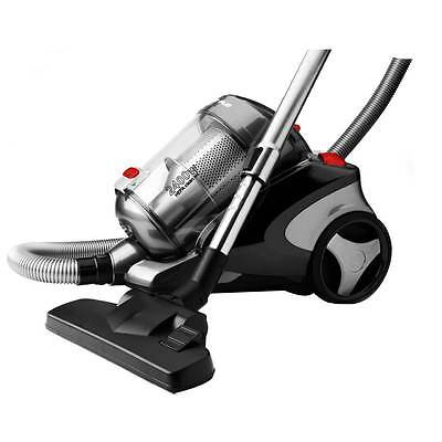 Bagless Speed Control 2400W Vacuum Cleaner Rubber Wheels Easy Dust Removal