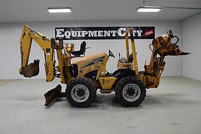 2009 Vermeer RTX750 Vibratory Cable Plow Backhoe 4X4X4  Ditch Witch RT55 RT80