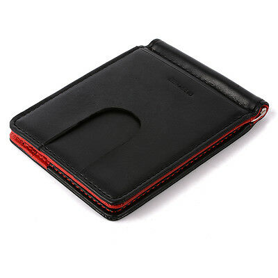 Unisex Genuine Leather Red Wallet Money/ID/Cash/Credit Card Holder MT260