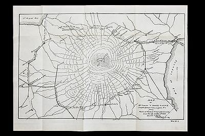 1899 Philippines War Map South Camarines Luzon 40th Infantry WAR DEPT ORIGINAL
