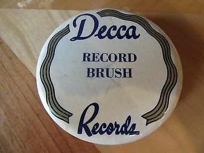 Vtg 1940's Decca Records Record Cleaner Brush Pittsburgh PA