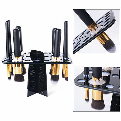 Collapsible Air Drying Makeup Brush Organizing Tree Rock Holder Cosmetic MT183