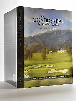 Confidential Guide to Golf Courses vol 2, Tom Doak, signed!! Great investment