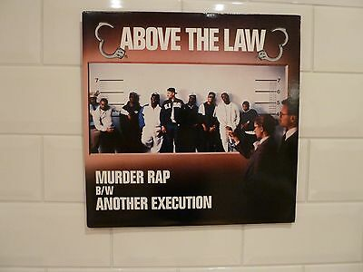 """Above The Law – Murder Rap / Another Execution 12"""" vinyl single"""
