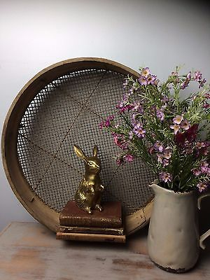 Vintage Garden Riddle / Sieve Fantastic For Display