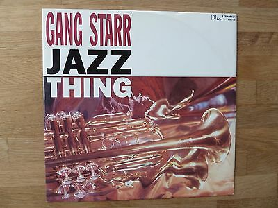 "Gang Starr - Jazz Thing 12"" vinyl single"