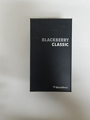 BlackBerry Classic SQC100-1, 16GB - Black - QWERTZ Keypad - Factory Unlocked
