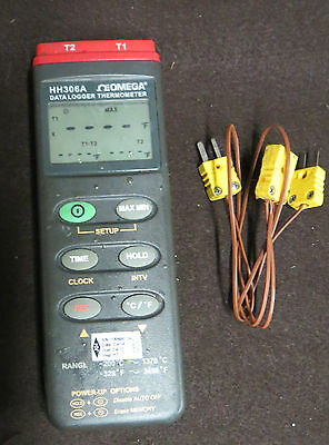 Hh306A Omega Data Logger Thermometer