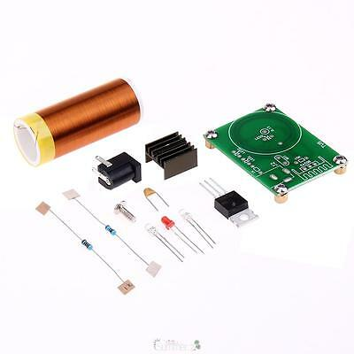 12V DC DIY Mini Tesla Bobina Coil Kit Wireless Elettrico Trasmission Lgnition