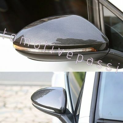 VW Golf Mk6 GTi R GTD Carbon Fibre Mirror Covers + FITS 2011 ONWARD VW TOURAN