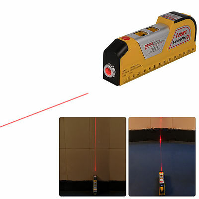 8ft Livella Level Laser Orizzontale Verticale Precisione Righello Nastro BI163