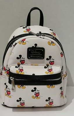 Loungefly Disney Mickey Mouse  Mini Backpack New