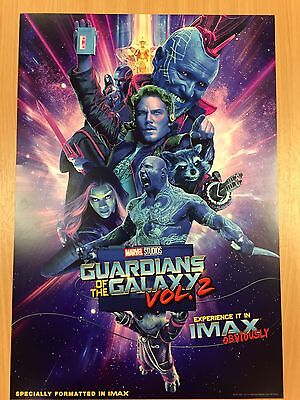 Guardians of the Galaxy Volume 2 (2017) Original cinema exclusive poster, IMAX