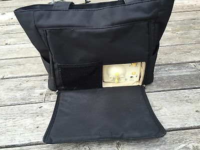 Medela Breast Pump In Style Advanced Shoulder Bag  w/ Double Breast Pump
