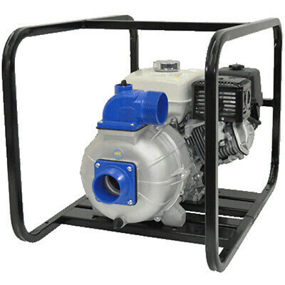 "IPT Pumps 4S13XZR - 530 GPM (4"") Electric Start Diesel Trash Pump w/ HATZ 1B5..."