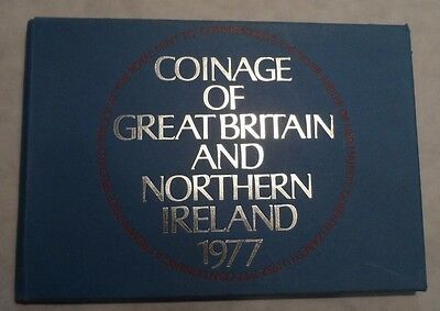 1977 COINAGE OF GREAT BRITAIN AND NORTHERN IRELAND Proof Set Foreign Coins RJS