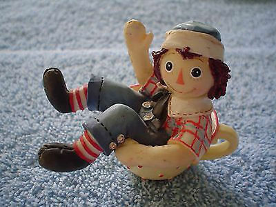 Enesco Raggedy Andy Filled to the Brim with Love Tea Cup 823554