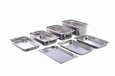 GN Container Gastronorm 1/1 Stainless Steel 20 mm - 200 mm Depth