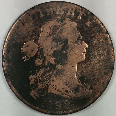 1798 Draped Bust Large Cent - Nice Us Copper Coin