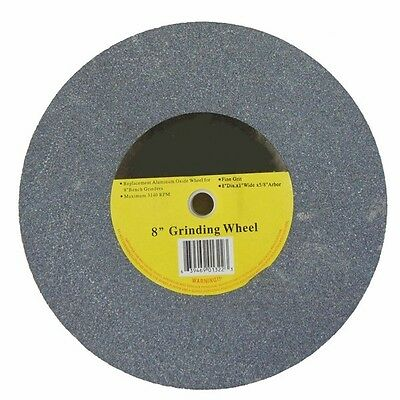 """Replacement 8"""" Round Grinding Stone Wheel for Electric Power Bench Grinder"""
