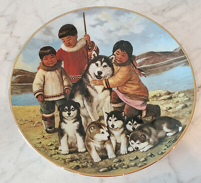 Anna Perenna - Nori Peter Collector Plate - Proud Mother - 1513/9500