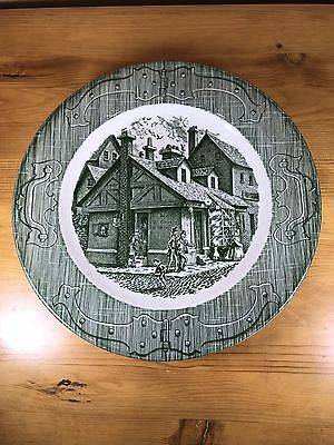 The Old Curiosity Shop Dinner Plate Royal China Vintage Pottery Dinnerware Retro