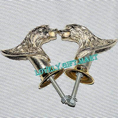 Vintage Antique Style Solid Metal Big Lion  Retro Entry Door Handle @