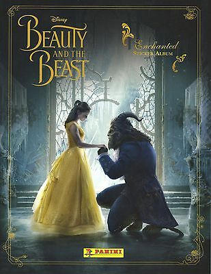 50 Different Panini DISNEY BEAUTY AND THE BEAST stickers
