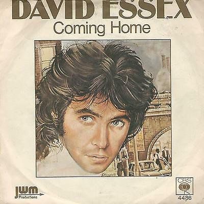 "David Essex "" Coming Home / Good Loving "" 7"" 1976 Made In Uk"