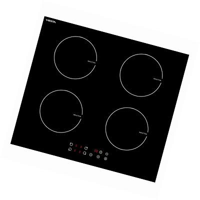 Viesta I4Z high quality induction hob with 4 independent cooking zones / 9 cooki