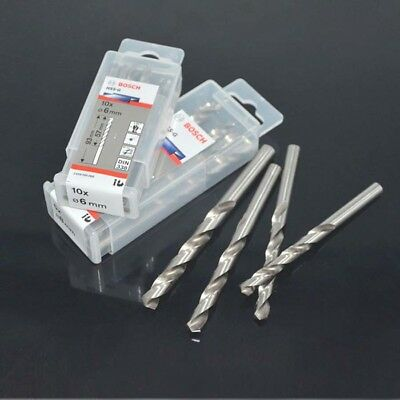 BOSCH 1-13mm Metal HSS G Drill Bit High Speed Steel Twist Driils Straight Shank