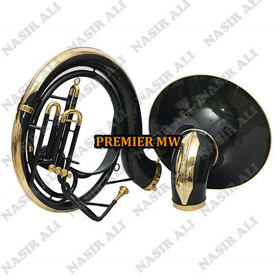 "Sousaphone Big Bell 25"" For Sale Pmw W/ Carry Bag + Mp +Checked + Black Lacquer"