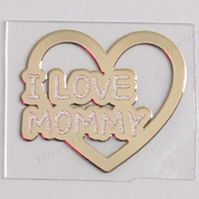 TPD 24K Gold Plated Anti Radiation Block Shield Sticker Mom Mommy Mother 's Day