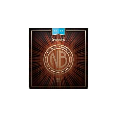 D'addario Nickel Bronze Light 12-53 Acoustic Guitar Strings - Brand New!