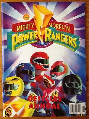 Mighty Morphin Power Rangers Official Annual 1st Edition 1994 Magazine Book