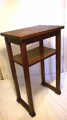 Vintage Antique Side Table Art Deco Nightstand Mid Century Modern Coffee High
