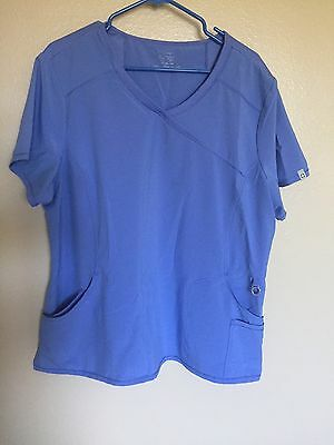 Women's Cherokee 4-Pocket Infinity Scrub Top Size 2XL New Without Tags