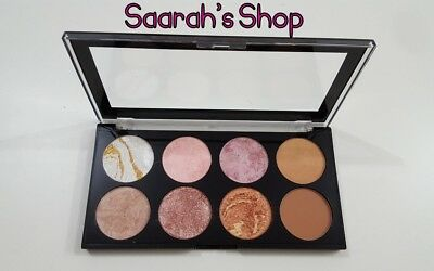 Makeup Revolution Blushes Highlighter Bronzer Palette GOLDEN SUGAR