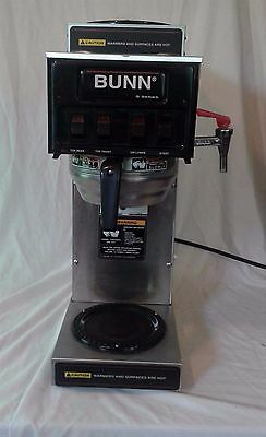 Bunn 3 Burner Automatic Commercial Coffee Brewer Maker STF 15 PN 02700.0040