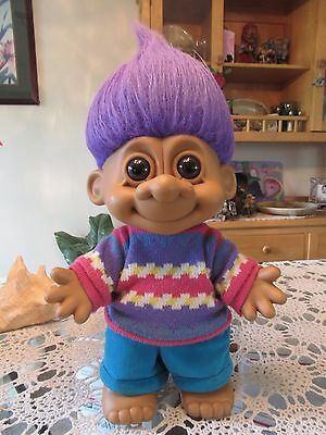 "1992 GIANT RUSS BOY (#3) - 14"" Russ Troll Doll"