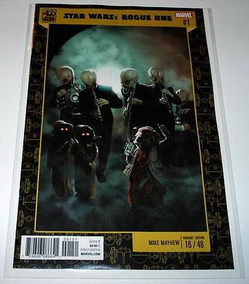 STAR WARS : ROGUE ONE # 1  Marvel Comic June 2017 NM 40th Anniversary VARIANT