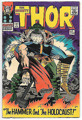 THOR #127 (1966 fn+ 6.5) guide value $33.00 (£25.00)