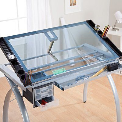 Studio Designs Futura Craft Station with Glass Top