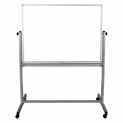 Luxor Reversible Magnetic board, White, 48W x 36H in.