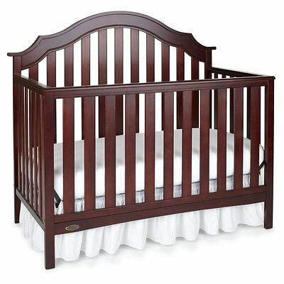 Graco Addison 4-in-1 Convertible Crib, Cherry