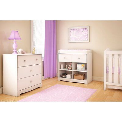 South Shore Little Jewel Changing Table - White